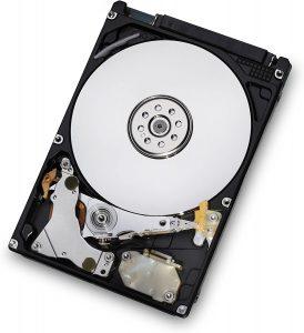 5400RPM hard drive
