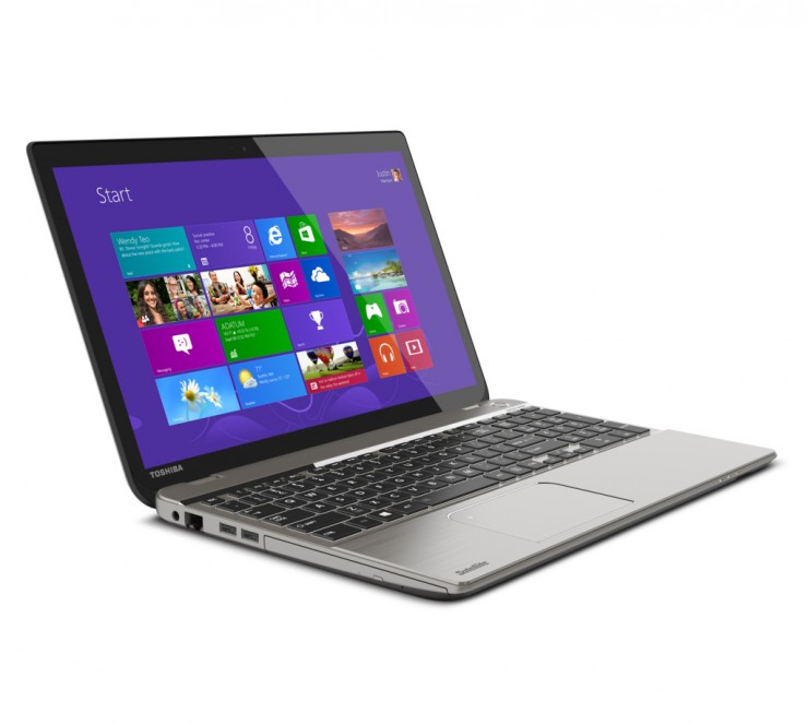 Toshiba Satellite P50t 4K Laptop with AMD Radeon R9 M265X Discrete Graphics Processor