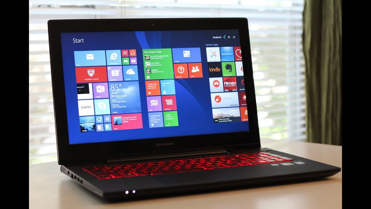 Lenovo Y50 4K Ultra HD Laptop Reviewed