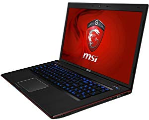 MSI GE70 2OE-017US Gaming Laptop with Intel Core i7-4700MQ and GeForce GTX 765M