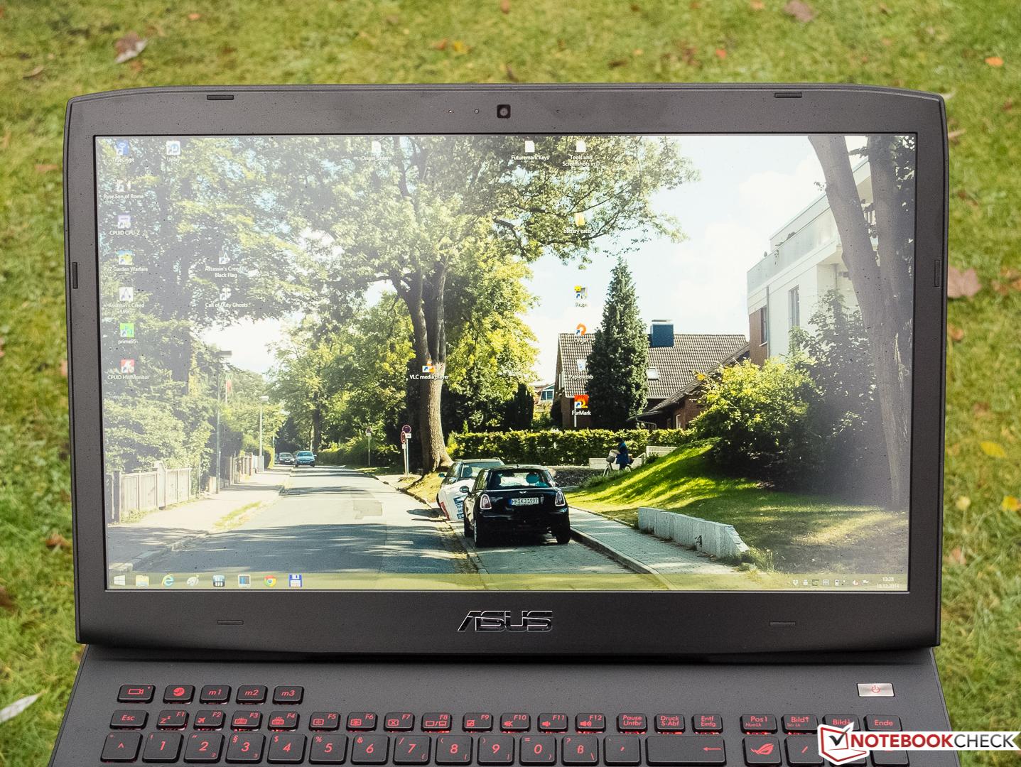 Asus ROG G751JY with GeForce GTX 980M