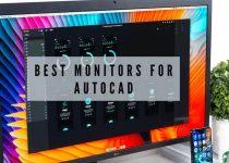 autocad monitor