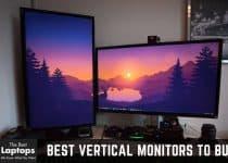 vertical display setup